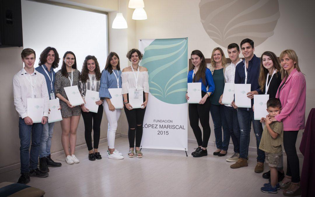 Acto público de entrega de Becas de la Fundación López Mariscal