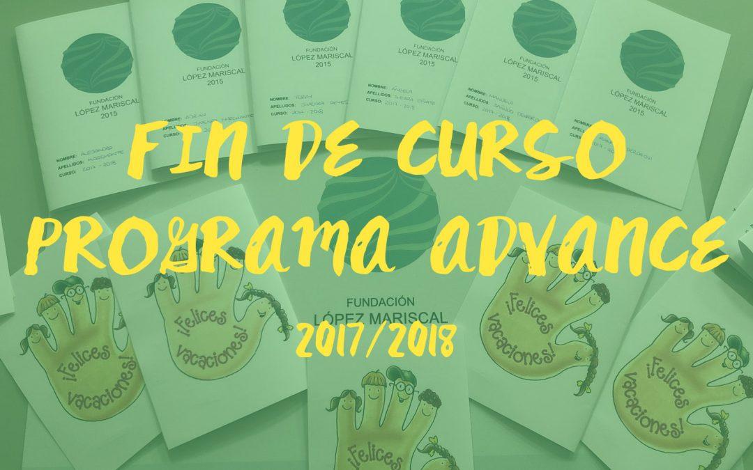 Fin de curso del Programa ADVANCE 2017/2018
