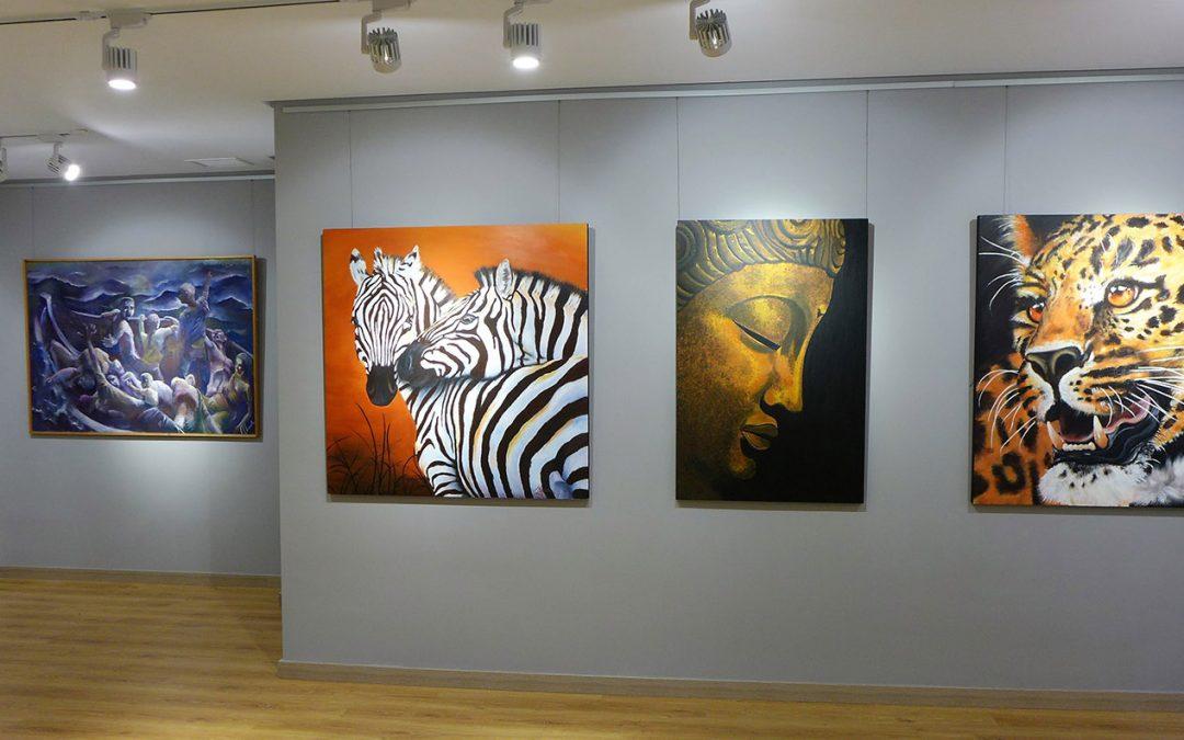 Exposición Jóvenes Pintores de Ubrique