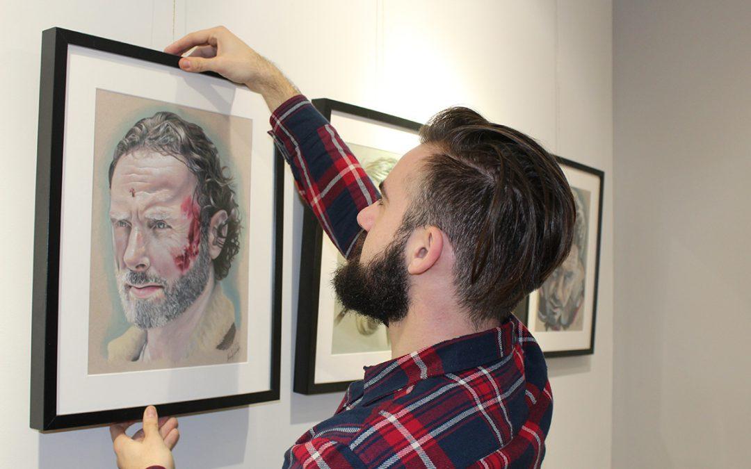 Inauguramos Ubrique con Arte con Manuel Jesús Céspedes el 2 de enero