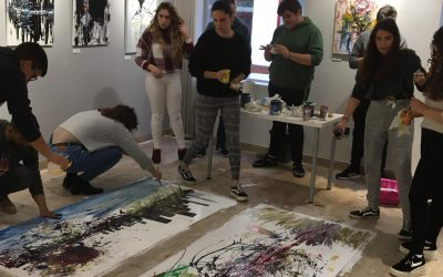 Artistas por un día