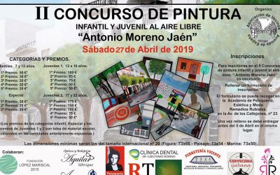 II Concurso de Pintura Infantil y Juvenil al Aire Libre Antonio Moreno 2019