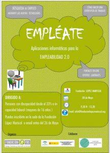 Taller Empléate Ubrique @ Sede Fundación López Mariscal | Ubrique | Andalucía | España