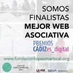 La Fundación López Mariscal opta al premio Mejor Web Asociativa